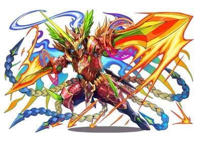 炎の魔剣士(フェニックスナイト・ホムラ)究極進化(日本版)