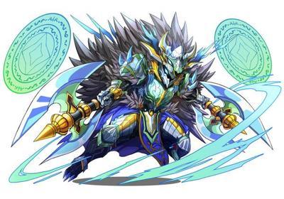氷の魔剣士(フェンリルナイト・カムイ)の究極進化(日本版)