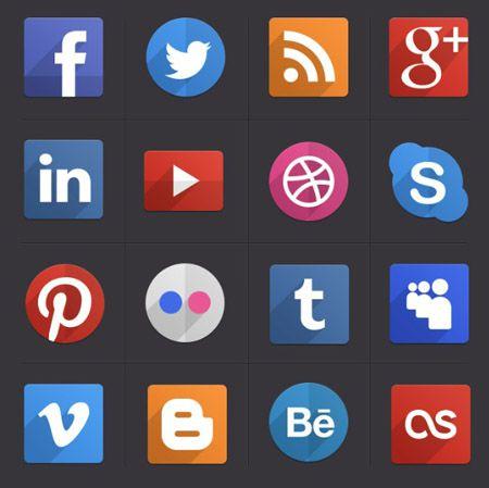 Psd flat icons