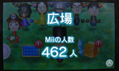 Miiの人数462人