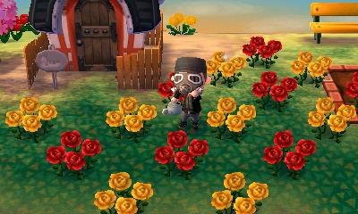 【とびだせ どうぶつの森】配合で青いバラを作る為に試行錯誤中