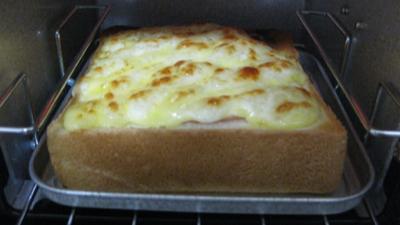 チーズパンを焼いてみました