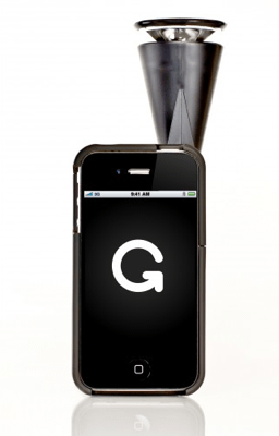 iPhoneに装着するとこんな感じです