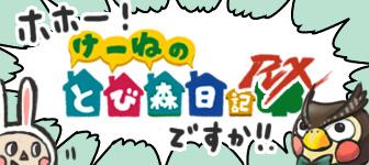 ホホー!けーねのとび森日記RXですか!!