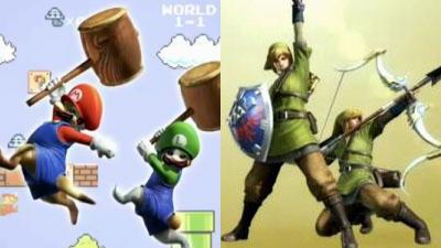 【MH4】3DSだからこそ実現可能!モンハンコラボで「マリオ」と「リンク(ゼルダの伝説)」が登場!