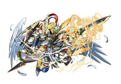 光の魔剣士(天空の騎士・ヴァーチェ)の究極進化(日本版)
