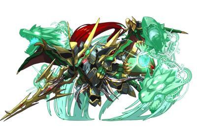 岩の魔剣士(エンシェントドラゴンナイト)の究極進化(日本版)