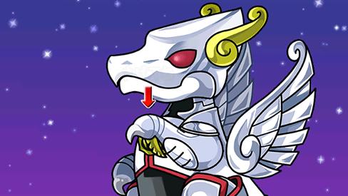 聖闘士星矢コラボガチャドラゴン