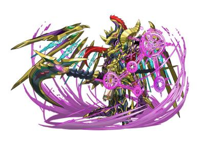闇の魔剣士(カオスドラゴンナイト)の究極進化(日本版)